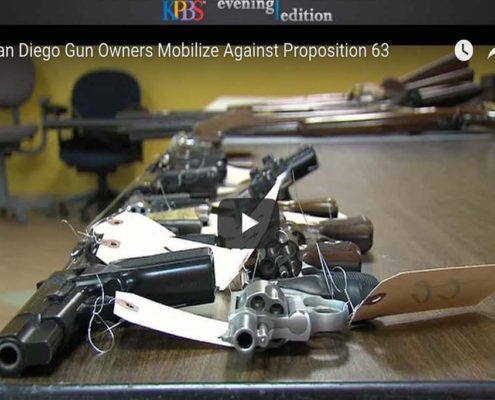 San Diego Gun Owners Mobilize Against Proposition 63