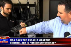 NRA Supports Lawsuit Challenging New Assault Weapon Control