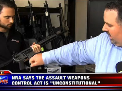 NRA says new guns laws are unconstitutional