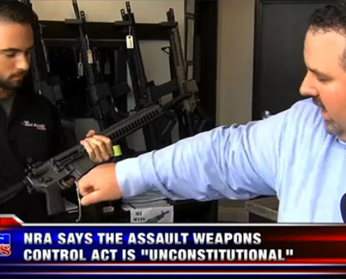 KUSI – NRA Supports Lawsuit Challenging New Assault Weapon Control