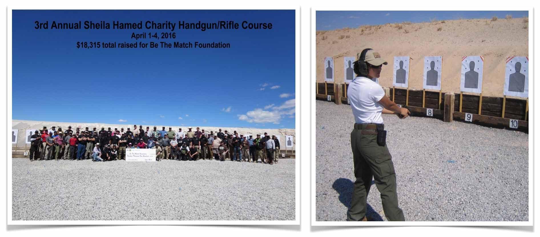 5th Annual Charity Handgun/Rifle Course