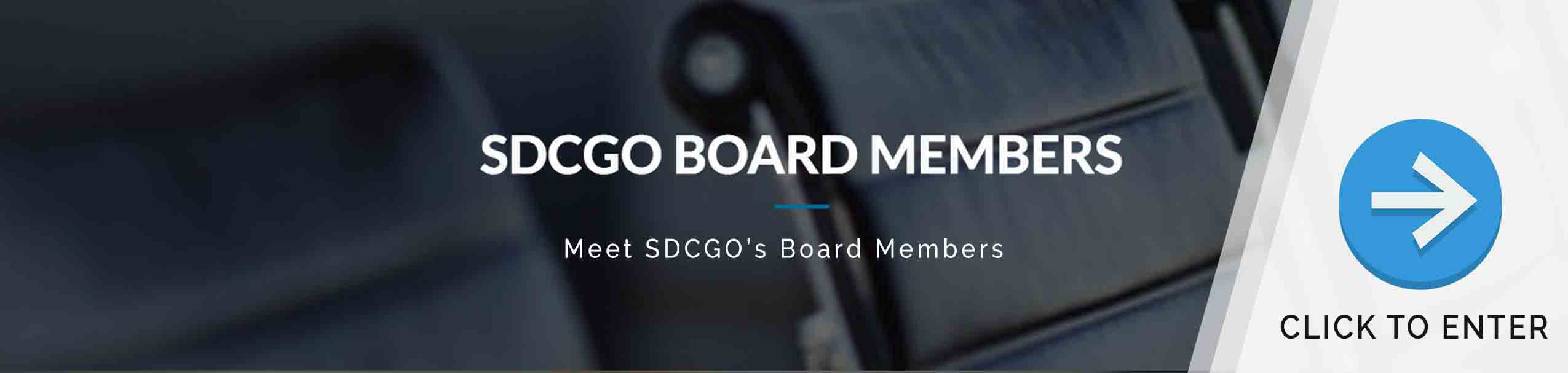 SDCGO Board Members