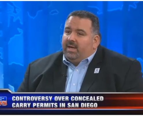 KUSI – Controversy Over Concealed Carry Permits in San Diego