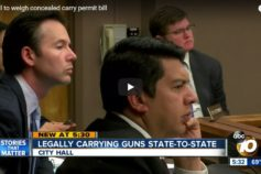 ABC 10 News San Diego – Council to weigh concealed carry permit bill