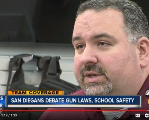 ABC10: San Diegans Debate Gun Laws, School Safety