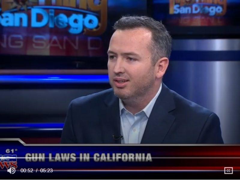 KUSI – California Gun Laws