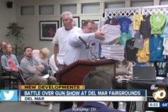 ABC 10: Del Mar Fairgrounds Receives 3,100 letters in support of gun show