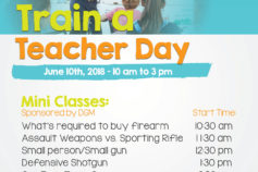 East County Style: Gun Owners PAC hosts free `Train a Teacher Day' on Sunday, June 10th