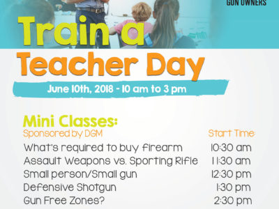 Train a Teacher Day