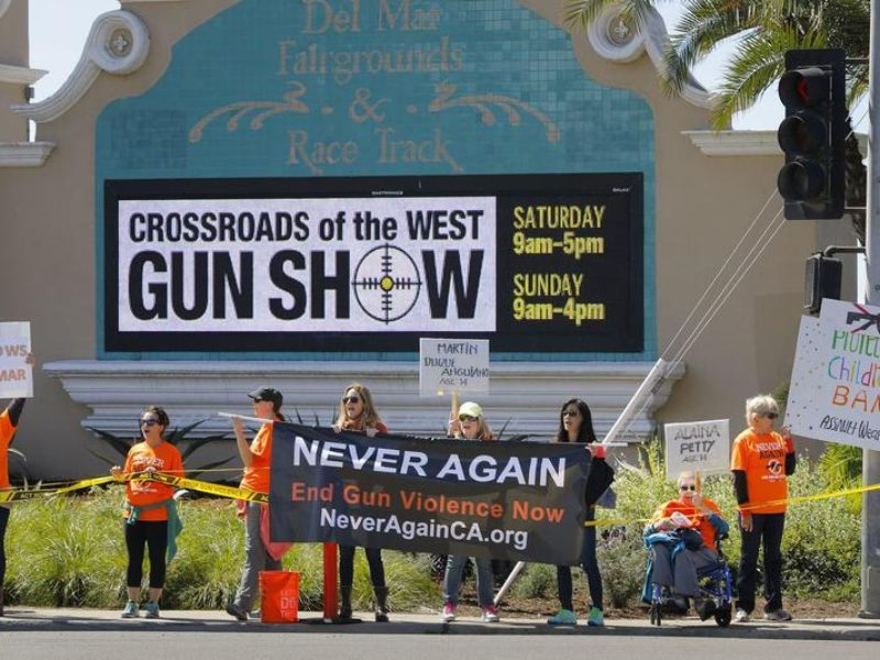 Union Tribune: Gun show opponents ask Del Mar fair board to ban 3D-printed guns