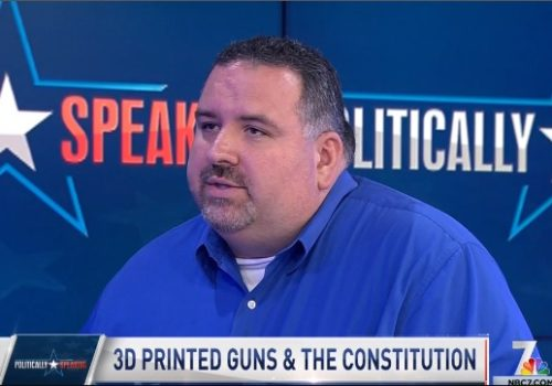 NBC 7 Politically Speaking: 3D Printed Guns