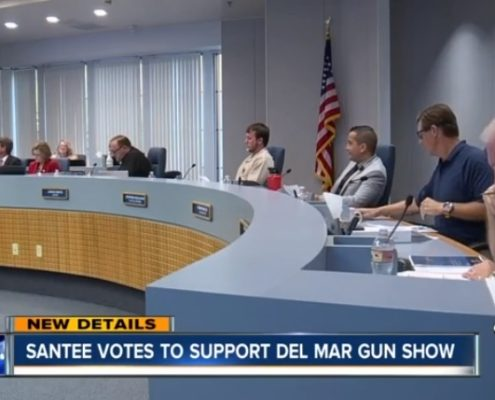 ABC10: City of Santee unanimously approves resolution to support gun show in Del Mar