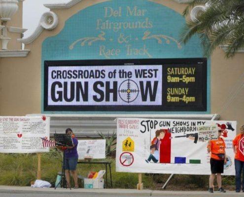 San Diego Union Tribune: Fair board to consider ban on gun shows in Del Mar
