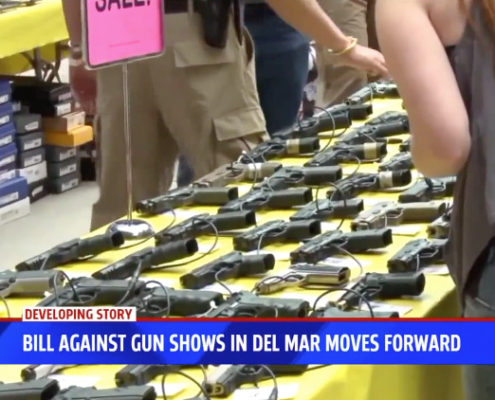 Law to ban gun shows at Del Mar Fairgrounds passes key committee
