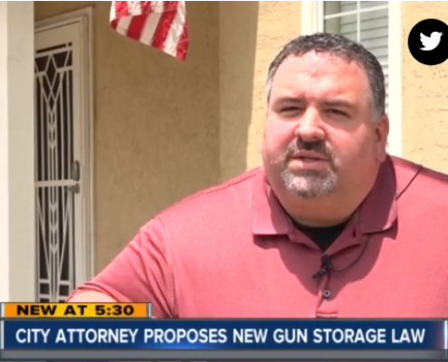 ABC10: San Diego gun owners could face stricter storage requirements