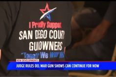 Fox 5: Judge rules Del Mar gun shows can continue for now