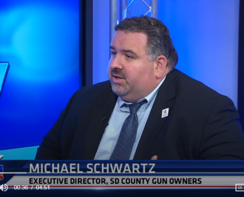 KUSI: Executive Director of San Diego County Gun Owners discusses new gun safety proposal