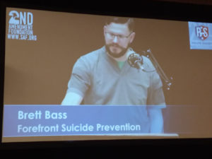 Brett Bass, Forefront Suicide Prevention