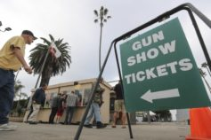 Union Tribune: Gun show supporters, opponents rally Saturday at Del Mar Fairgrounds