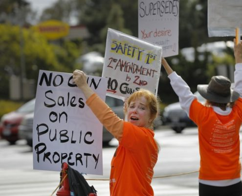 CBS8: Gun show returns to Del Mar, and so do protesters & supporters