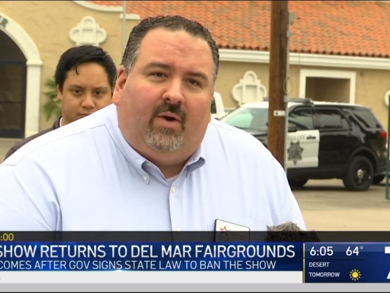 NBC7: Crossroads of the West Gun Show Returns to Del Mar