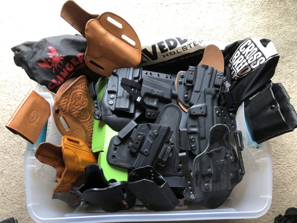 CCW Lifestyle Series #1 - Holsters | San Diego County Gun Owners