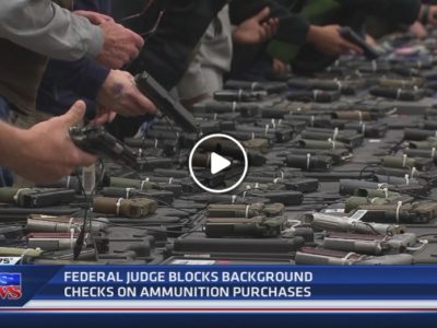 Blocks background checks