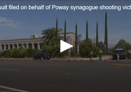 CBS 8: Chabad of Poway Synagogue shooting victims file lawsuit