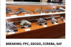Firearms Policy Coalition: BREAKING: FPC, SDCGO, CCRKBA, SAF Sue to Strike Down Expanded California Handgun Roster Ban Laws