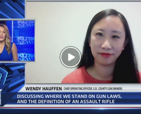 KUSI: California's stance on gun laws