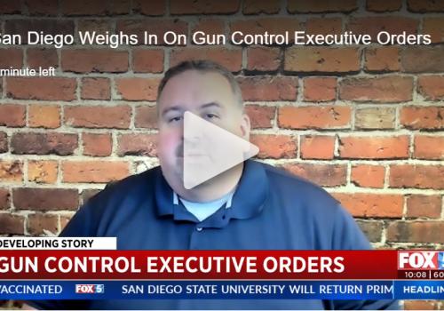 Fox 5 San Diego: Local advocates mixed on Biden's bid to address nation's gun violence