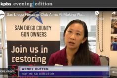 KPBS: San Diego Firearms Club Aims At Making Women Responsible Gun Owners