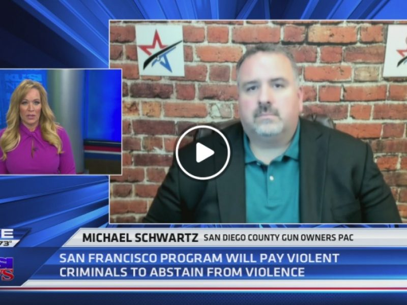 KUSI: SF Program to pay high-risk offenders to abstain from gun violence