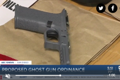 10News: Proposal to ban 'ghost guns' in San Diego