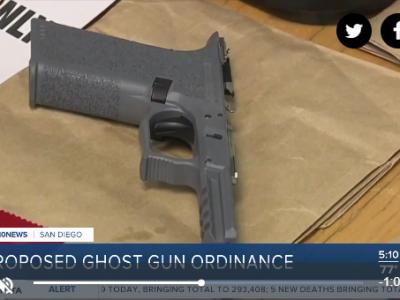 10 News ghost gun