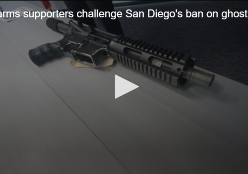 CBS8: Firearms supporters challenge San Diego's ban on ghost guns with lawsuit